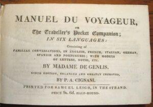 Manuel de voyageur